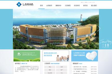 网站建设策划案例_联华国际控股集团